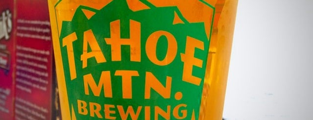 Tahoe Mountain Brewing Co. is one of North Lake Tahoe.