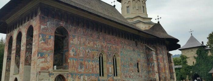 Biserica Mânăstirii Moldovița is one of UNESCO World Heritage Sites in Eastern Europe.