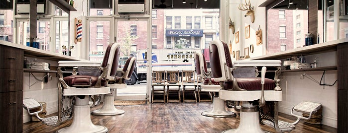 Made Man Barbershop is one of NYC do it!!!!!.