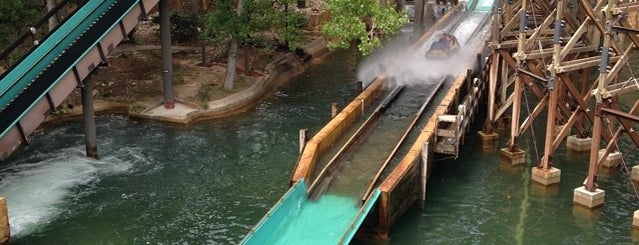 Silver River Flume is one of PortAventura.