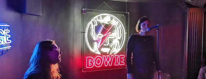 Bowie is one of Elena'nın Kaydettiği Mekanlar.
