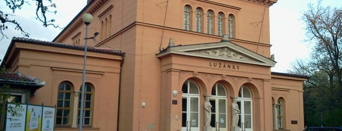 Středisko volného času Lužánky is one of Kde si pochutnáte na kávě doubleshot?.