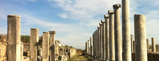 Perge Antik Kenti is one of Antalya.