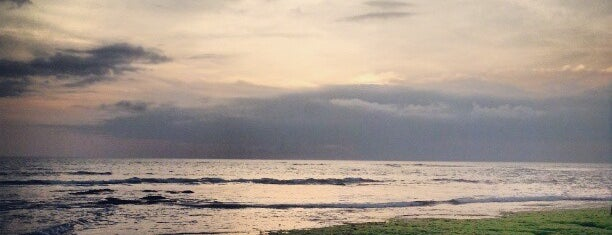 Canggu Beach is one of Bali.