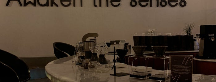 V60 is one of Riyadh Cafe.