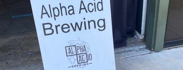 Alpha Acid Brewing is one of Posti salvati di Alex.