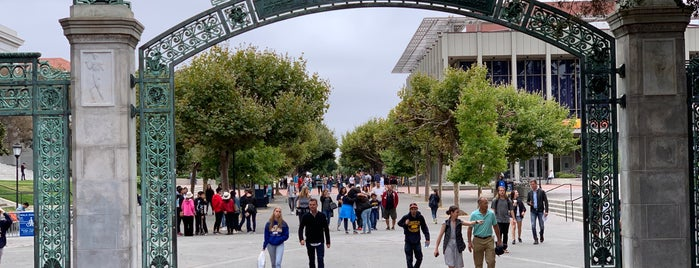 Sather Gate is one of San Francisco -CA.