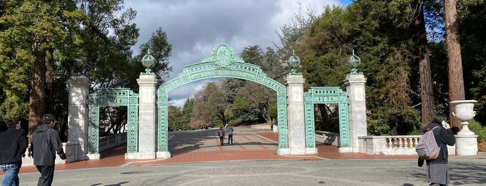 Sather Gate is one of Locais curtidos por David.