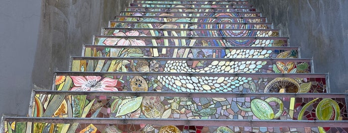 Hidden Garden Mosaic Steps is one of Cool spots.