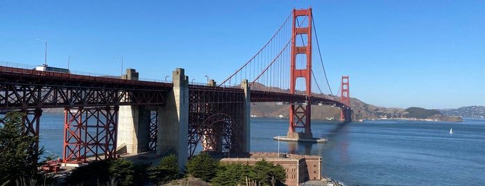 Golden Gate Bridge - Tower 1 is one of Gunnar 님이 좋아한 장소.