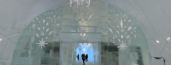 Icehotel is one of Orte, die Rachel gefallen.