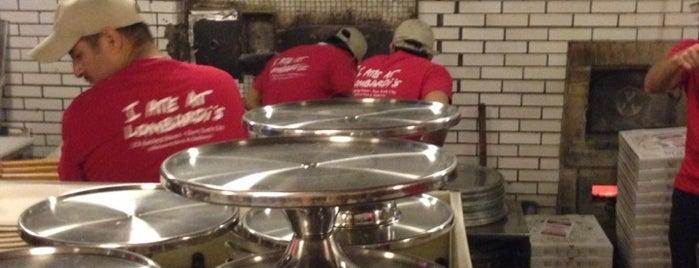 Lombardi's Coal Oven Pizza is one of Rachel : понравившиеся места.