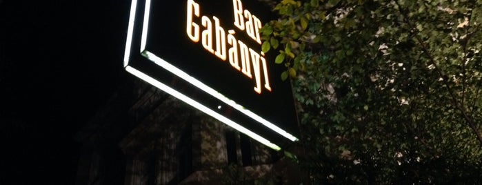 Bar Gabányi is one of MUN.