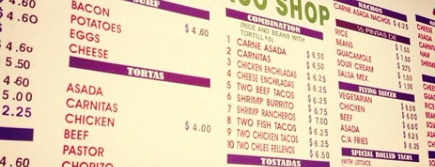 Ortiz's Taco Shop is one of San Diego: Taco Shops & Mexican Food.