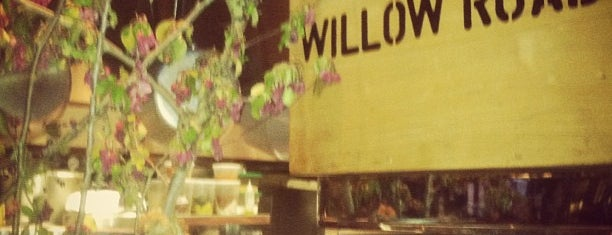 Willow Road is one of New Restaurants to Try.
