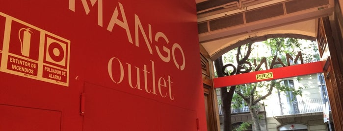 Mango Outlet is one of Barça.