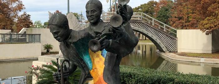 Louis Armstrong Park is one of Lugares favoritos de Jose Luis.
