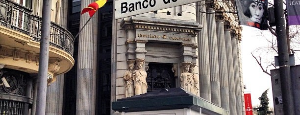 Metro Banco de España is one of Orte, die Kevin gefallen.