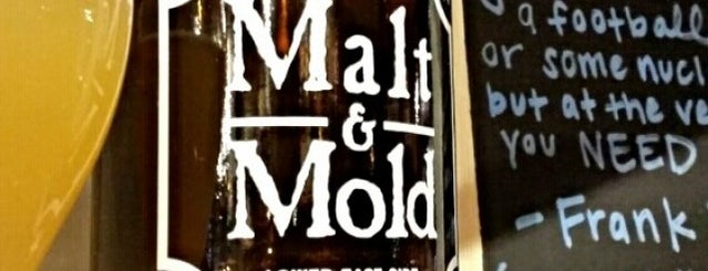 Malt & Mold is one of Lugares guardados de Thomas.