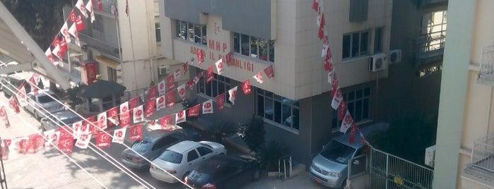 MHP Adana İl Başkanlığı is one of UĞUR : понравившиеся места.