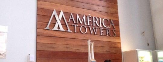 America Towers Hotel Salvador is one of Locais curtidos por Paulo.