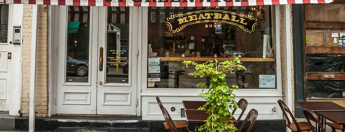 The Meatball Shop is one of Whitney Member Discounts.