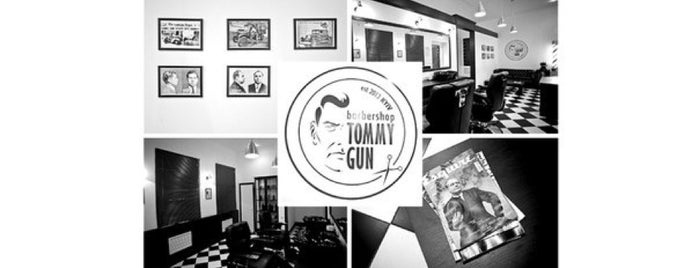 Tommy Gun Barbershop is one of Locais curtidos por Vitaliy.