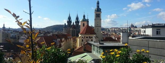 Terasa T-Anker is one of Nejlepší výhledy v Praze.