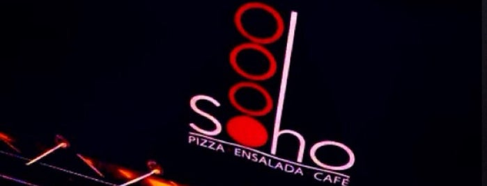 SohoPizza is one of Locais curtidos por Jimmy.
