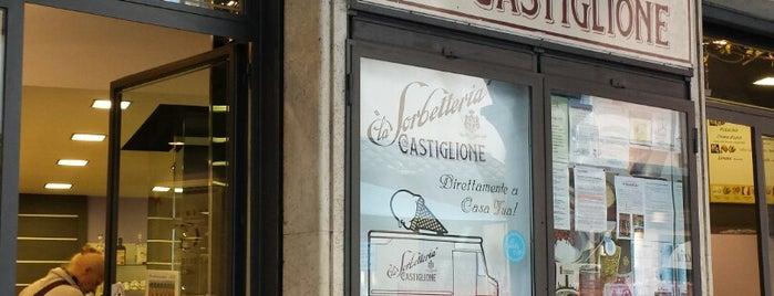 La Sorbetteria Castiglione is one of Posti che sono piaciuti a Eleonora.