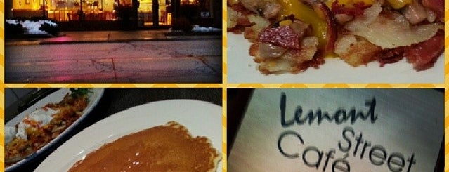 Lemont Street Cafe is one of Tempat yang Disukai Michelle.