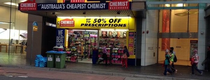 Chemist Warehouse is one of สถานที่ที่บันทึกไว้ของ Simon.
