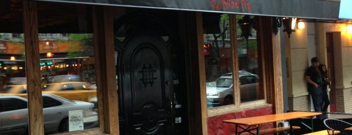 Blind Pig is one of nyc bars to visit.