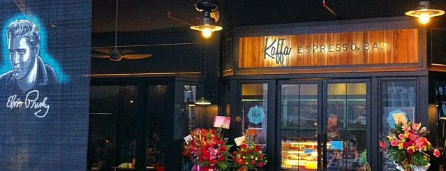 Kaffa Espresso Bar is one of Locais curtidos por vc.