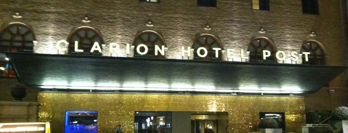Clarion Hotel Post is one of Sweden.