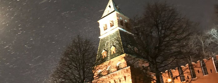 Blagoveschenskaya Tower is one of Москва.