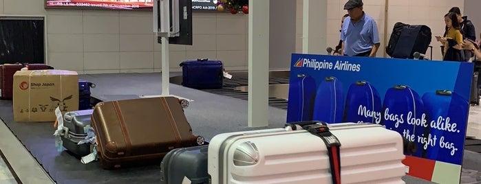 NAIA Terminal 2 Arrivals is one of Locais curtidos por Shank.
