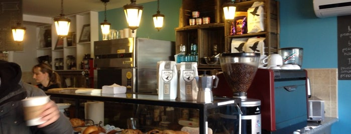 Tin Cup Cafe is one of Best in NYC coffee.