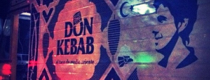 Don Kebab FT is one of fueras del centro.