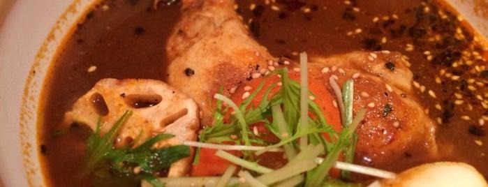 ヒリヒリ オオドオリ hirihiri OH! DO-RI スープカリー is one of スープカレー.