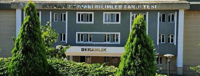 Siyasal Bilgiler Fakültesi is one of Burak'ın Beğendiği Mekanlar.