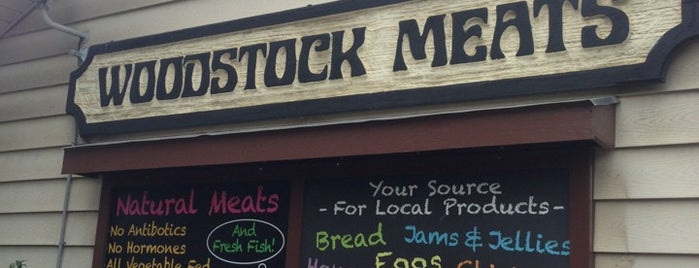 Woodstock Meats is one of Upstate.