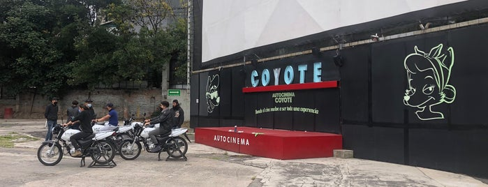 Autocinema Coyote is one of Para hacer con Cris.