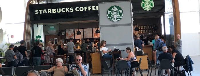 Starbucks is one of Zachary 님이 좋아한 장소.