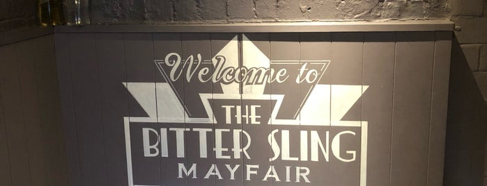 The Bitter Sling is one of Restaurants London.