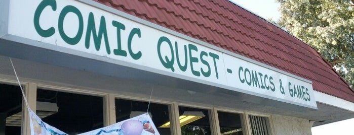 Comic Quest is one of Tempat yang Disimpan Epic.