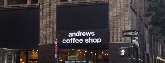 Andrews Coffee Shop is one of Orte, die Elena gefallen.