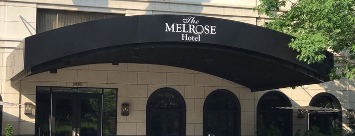Melrose Georgetown Hotel is one of Lugares favoritos de Tone.