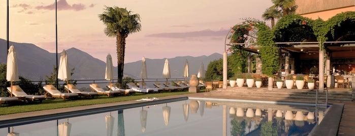 Villa Orselina is one of Locarno, Schweiz.