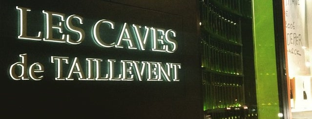 Les Caves de Taillevent is one of Paris.